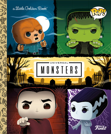 Universal Monsters Little Golden Book (FUNKO POP!)