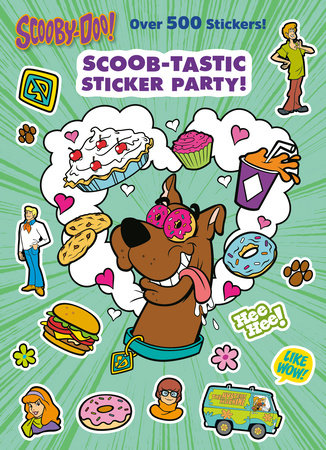 Scoob-tastic Sticker Party! (Scooby-Doo)