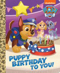 Book cover for Puppy Birthday to You! (PAW Patrol)