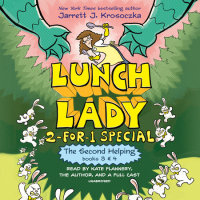 Cover of The Second Helping (Lunch Lady Books 3 & 4) cover