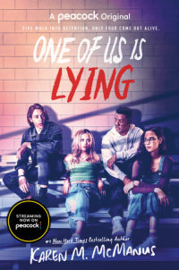 Book cover for One of Us Is Lying (TV Series Tie-In Edition)