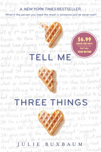 Cover of Tell Me Three Things cover