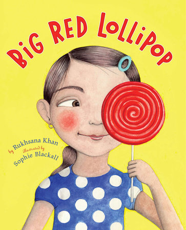 Big Red Lollipop