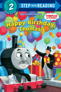 Book cover for Happy Birthday, Thomas! (Thomas & Friends)