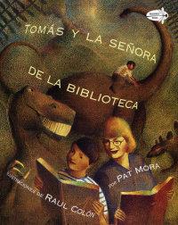 Book cover for Tomas y la Senora De la Biblioteca (Tomas and the Library Lady Spanish Edition)