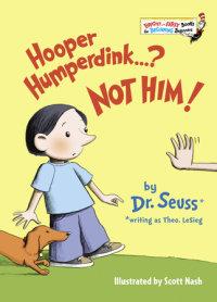 Book cover for Hooper Humperdink...? Not Him!