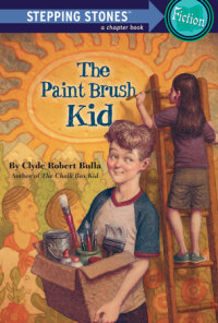 Book cover for The Paint Brush Kid
