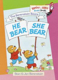 Book cover for He Bear, She Bear