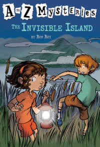 Book cover for A to Z Mysteries: The Invisible Island