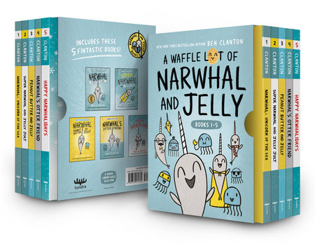 A Waffle Lot of Narwhal and Jelly (Hardcover Books 1-5)