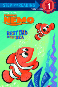 Book cover for Best Dad In the Sea (Disney/Pixar Finding Nemo)