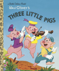 Book cover for The Three Little Pigs (Disney Classic)