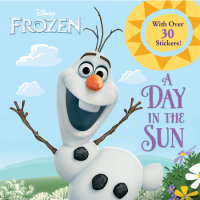 Book cover for A Day in the Sun (Disney Frozen)