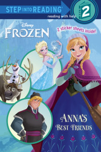 Book cover for Anna\'s Best Friends (Disney Frozen)