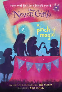Book cover for Never Girls #7: A Pinch of Magic (Disney: The Never Girls)