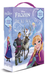 Book cover for The Ice Box (Disney Frozen)