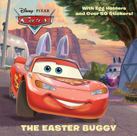 Book cover for The Easter Buggy (Disney/Pixar Cars)
