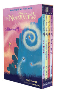 Book cover for The Never Girls Collection #1 (Disney: The Never Girls)