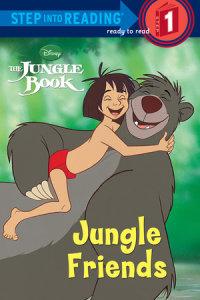 Book cover for Jungle Friends (Disney Jungle Book)