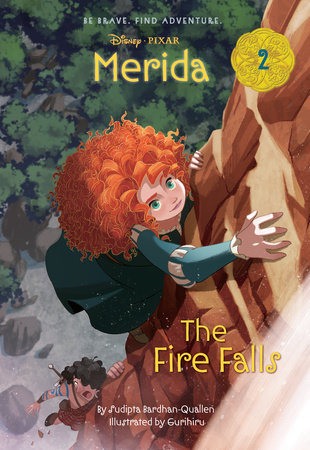 Merida #2: The Fire Falls (Disney Princess)