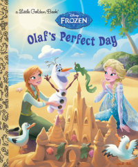 Book cover for Olaf\'s Perfect Day (Disney Frozen)
