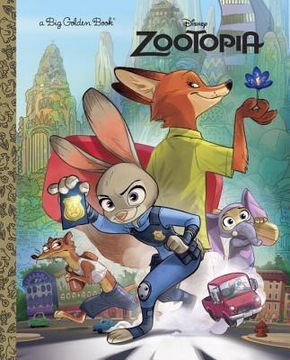 Zootopia Big Golden Book (Disney Zootopia)