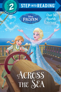 Book cover for Across the Sea (Disney Frozen)
