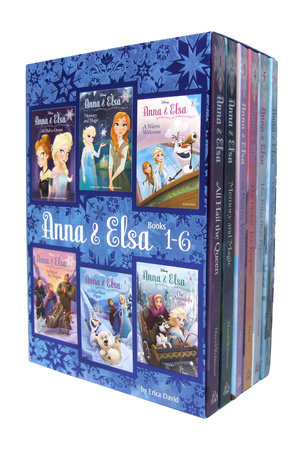 Anna & Elsa: Books 1-6 (Disney Frozen)