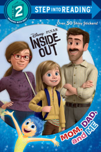 Book cover for Mom, Dad, and Me (Disney/Pixar Inside Out)