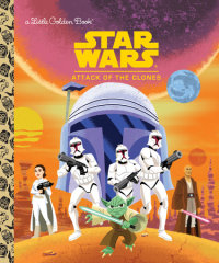 Book cover for Star Wars: Attack of the Clones (Star Wars)