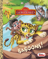 Book cover for Baboons! (Disney Junior: The Lion Guard)