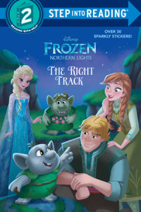 Book cover for The Right Track (Disney Frozen: Northern Lights)