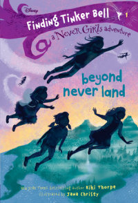 Book cover for Finding Tinker Bell #1: Beyond Never Land (Disney: The Never Girls)