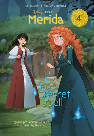 Merida #4: The Secret Spell (Disney Princess)