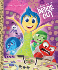 Book cover for Inside Out (Disney/Pixar Inside Out)