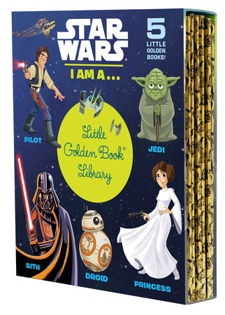 Star Wars: I Am a...Little Golden Book Library (Star Wars)
