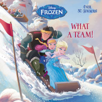 Book cover for What a Team! (Disney Frozen)