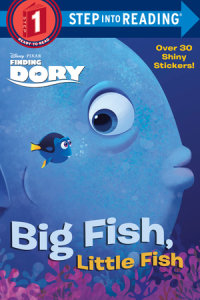 Book cover for Big Fish, Little Fish (Disney/Pixar Finding Dory)