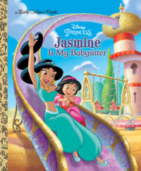 Book cover for Jasmine Is My Babysitter (Disney Princess)