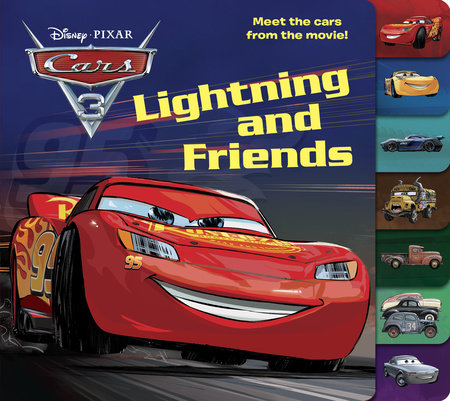 Lightning and Friends (Disney/Pixar Cars 3)