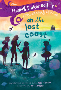 Book cover for Finding Tinker Bell #3: On the Lost Coast (Disney: The Never Girls)
