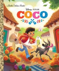 Book cover for Coco Little Golden Book (Disney/Pixar Coco)