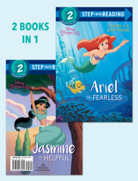 Book cover for Ariel Is Fearless/Jasmine Is Helpful (Disney Princess)