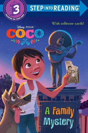step into reading a family mystery disney pixar coco