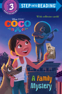 Book cover for A Family Mystery (Disney/Pixar Coco)