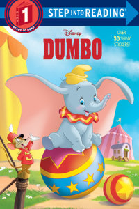 Book cover for Dumbo Deluxe Step into Reading (Disney Dumbo)