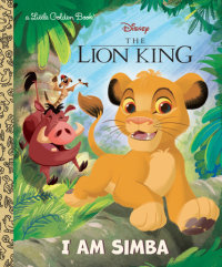 Cover of I Am Simba (Disney The Lion King) cover