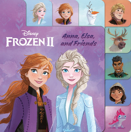 Anna, Elsa, and Friends (Disney Frozen 2)