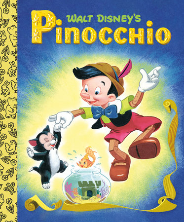 Walt Disney's Pinocchio Little Golden Board Book (Disney Classic)