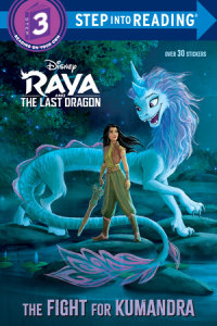 Book cover for The Fight for Kumandra (Disney Raya and the Last Dragon)